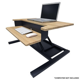 Luxor Lvlup Pro32-Wo Level Up 32 Pro Standing Desk Converter