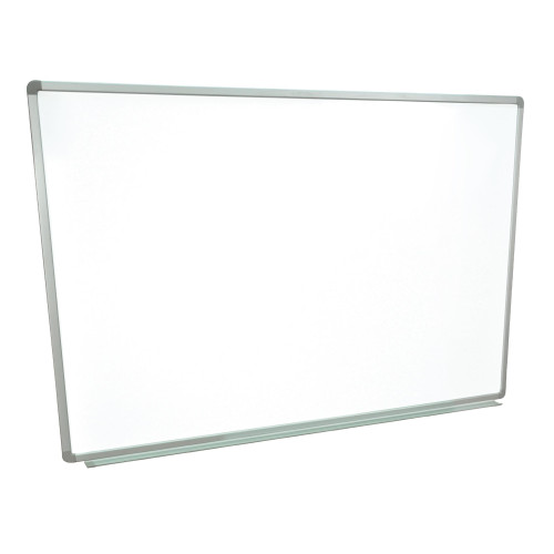 The Luxor Wb6040W Markerboard Is A 60X40 Wall- Mounted Magnetic Whiteboard.