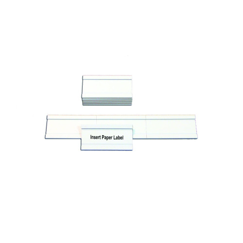 """Magnetic Data Cards, White, Accessories, 1"""" X 2"""", 25 Pack"""