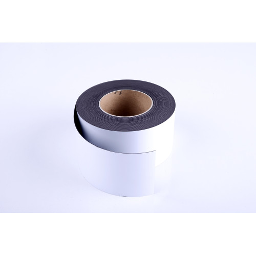 """Magnetic Adhesive Tape Roll 1""""X 4 Ft. Black"""