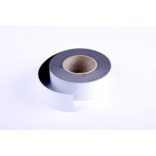 """Magnetic Adhesive Tape Roll 1""""X 50 Ft. Black"""