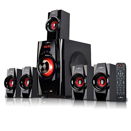 Befree Sound Bfs-410 Bluetooth Home Stereo System With Usb And Sd Slots - Red