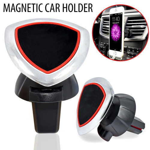 Universal 360 Air Vent Phone Magnetic Windshield Dashboard Suction Mount Holder Stand