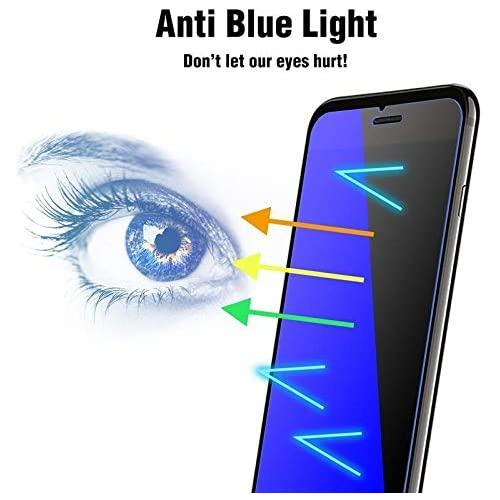 """Apple Iphone Xr (6.1"""") Anti Blue Ray Light Tempered Glass Screen Protector"""