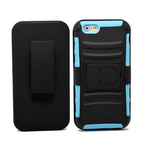 Iphone 6 / 6S Plus protect Belt Clip Holster Case Cover Blue