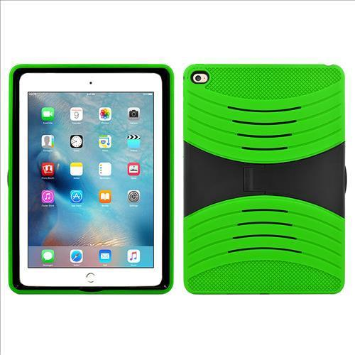 Apple Ipad Air 2 Hybrid Silicone Case Cover Stand Green