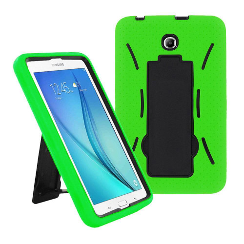 Samsung Galaxy Tab A 8.0 / T350 / T355 Hybrid Silicone Case Cover Stand Green