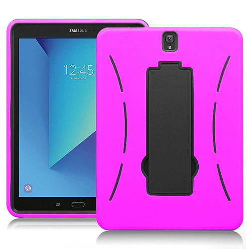Samsung Galaxy Tab S3 9.7 / T820 / T825 Hybrid Silicone Case Cover Stand Pink