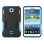 Samsung Galaxy Tab 3 7.0 / P3200 Impact Silicone Case Dual Layer With Stand Blue