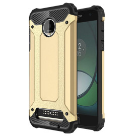 Motorola Moto Z Force Droid Edition / Xt1650 protect Hybrid Dual Layer Shockproof Touch Case Cover Gold