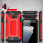 Samsung Galaxy Note 7 / N930 protect Hybrid Dual Layer Shockproof Touch Case Cover Red