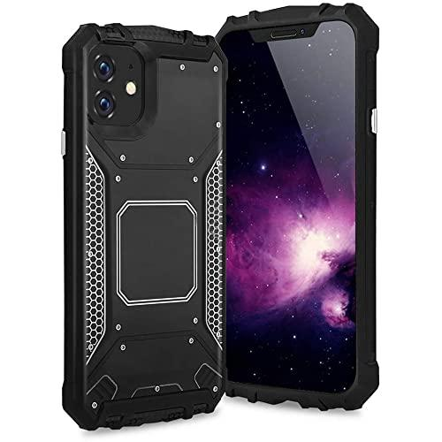 Apple Iphone 11 Pro Metal Magnetic Chrome Shockproof Hybrid Case Cover