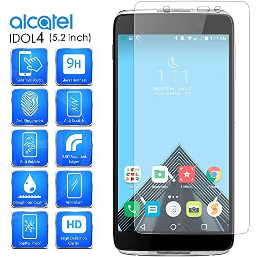 Alcatel Onetouch Idol 4 / Nitro 49 / 6055 Tempered Glass Screen Protector