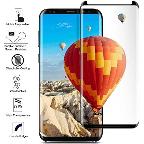 Samsung Galaxy S9 Plus 3D Curved Tempered Glass Screen Protector Black