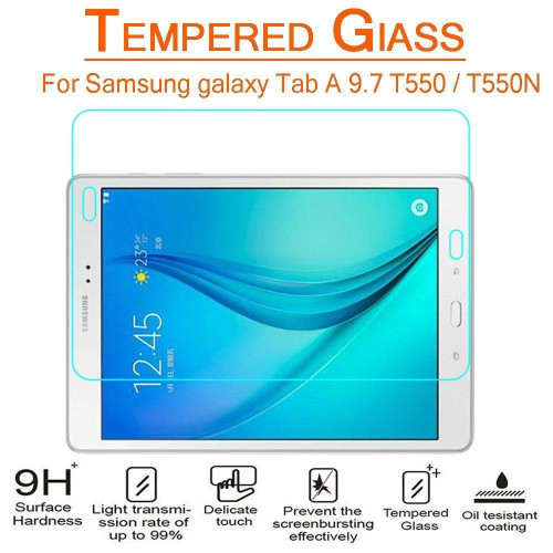 Samsung Galaxy Tab A 9.7 / T550 Tempered Glass Screen Protector