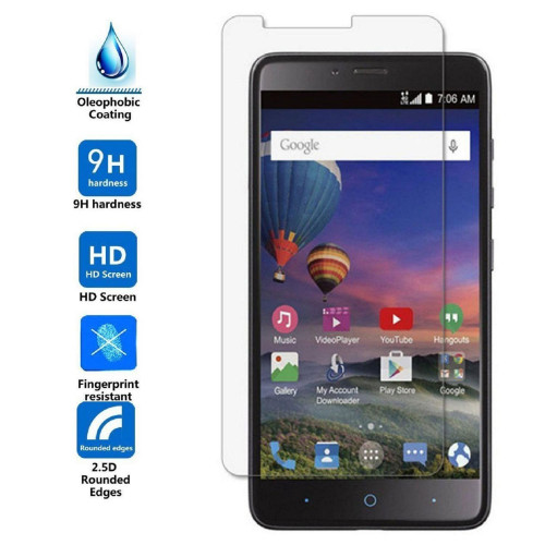 Zte Zmax Pro / Z981 Tempered Glass Screen Protector
