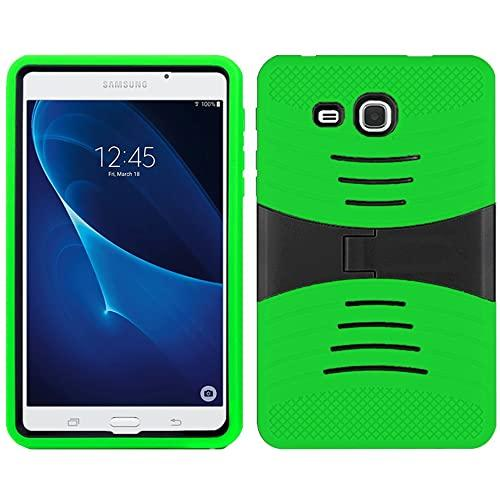 Samsung Galaxy Tab A 7.0 / T280 Hybrid Silicone Case Cover Stand Green