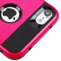 Apple Iphone 8 / 7 / 6/6S Hybrid Metal Brushed Shockproof Tough Case Cover Pink