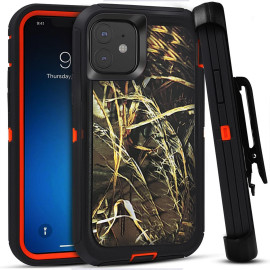 For Apple Iphone 11 Pro Max Heavy Duty Defender protect Hybrid Case Cover With Clip