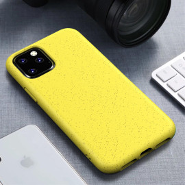 For Apple Iphone 11 Pro Max Full Body Hybrid Natural Wheat Tpu Case Cover