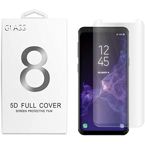 Samsung Galaxy S9 Plus 5D Curved Full Cover Tempered Glass Screen Protector Clear