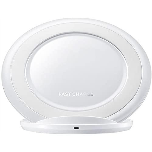 Fast Qi Wireless Charger Stand Dock Charging Pad Fast Charger 2000Mah For Samsung Galaxy White