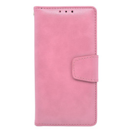 Kyocera Hydro View / 6742 Folio Leather Wallet Pouch Case Cover Pink