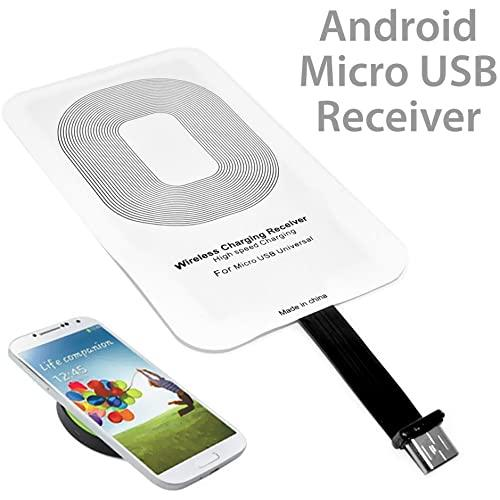 Universal Qi Wireless Power Charger Charging Receiver Module Sticker Wrmicr001 For Android Phones W. Micro Usb