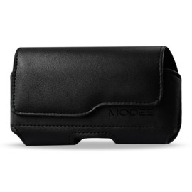 For Kyocera Hydro Reach / C6743 Horizontal Z Lid Leather Pouch Plus Cell Phone With Cover Size Black