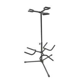Deluxe Folding Triple Guitar Stand