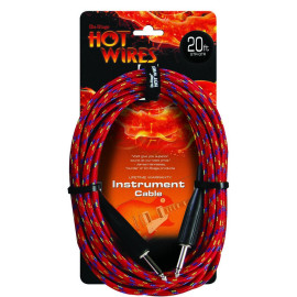 Instrument Cable, Braided (Qtr-Qtr, 20')