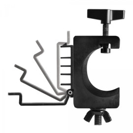 Lighting Clamp With Cable Management System, 1.5 Inches To 2 Inches (Pair)