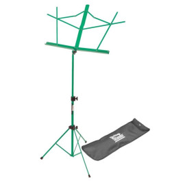 Compact Sheet Music Stand (Green, With Bag)