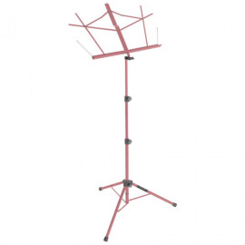 Compact Sheet Music Stand (Pink, With Bag)