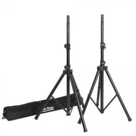 All-Aluminum Speaker Stand Pak With Zippered Bag