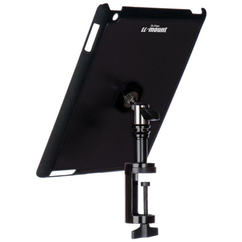 Ipad Snap-On Cover W/ Table Clamp, Black
