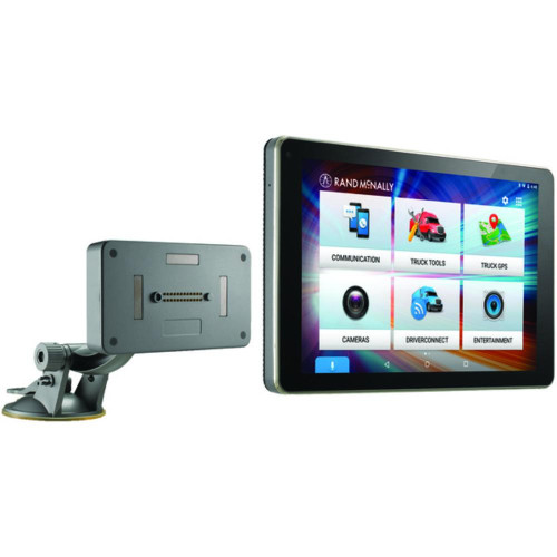 """Rand Mcnally 528017829 Overdryve 8 Pro 8"""" Truck Gps Tablet With Dash Cam, Bluetooth, Siriusxm Ready And Free Lifetime Maps And Traffic Updates"""
