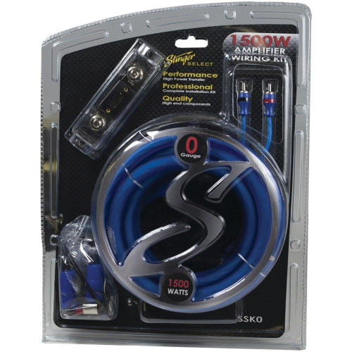 Select Wiring Kit With Ultra-Flexible Copper-Clad Aluminum Cables (0 Gauge)
