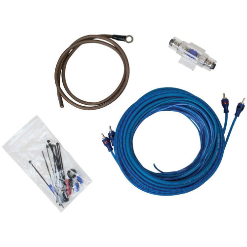 Select Wiring Kit With Ultra-Flexible Copper-Clad Aluminum Cables (4 Gauge)