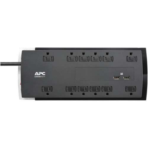 12-Outlet Surgearrest(R) Performance Series Surge Protector With 2 Usb Ports, 6Ft Cord