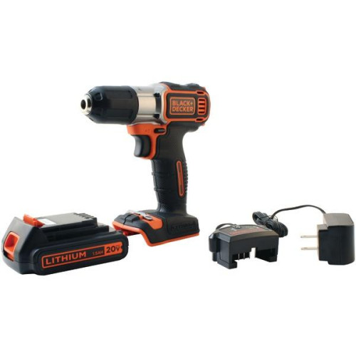 20-Volt Max* Lithium Drill/Driver With Autosense(Tm) Technology