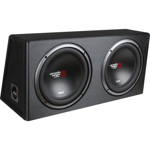 Xed Series Xe10Dv Dual 10-Inch Subwoofers In Loaded Enclosure