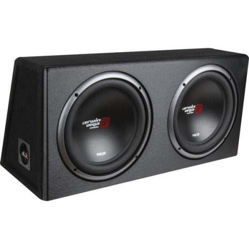 Xed Series Xe12Dv Dual 12-Inch Subwoofers In Loaded Enclosure