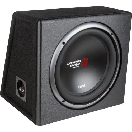 Xed Series Xe12Sv Single 12-Inch Subwoofer In Loaded Enclosure