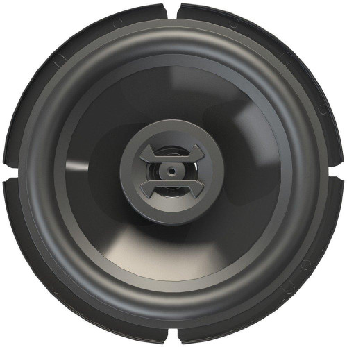 """Zeus(R) Series Coaxial 4Ohm Speakers (6.5"""" Shallow Mount, 3 Way, 300 Watts Max)"""