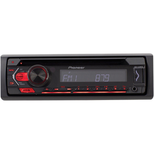 Single-Din In-Dash Cd Player With Usb Port