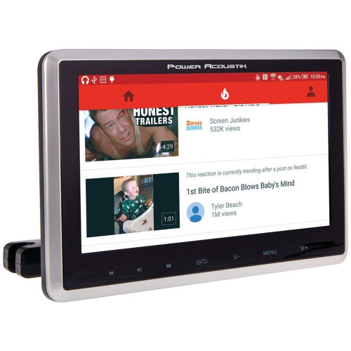 """10.3"""" Universal Headrest Monitor With Dvd Player, Ir & Fm Transmitters & Android(Tm) Phonelink"""