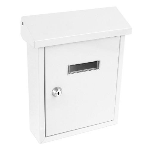 Wall-Mount Locking Mailbox