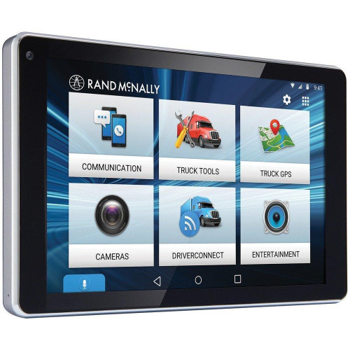 Overdryve(Tm) 7 Pro Gps Truck Device With Built-In Dash Cam, Bluetooth(R) & Siriusxm(R) Ready