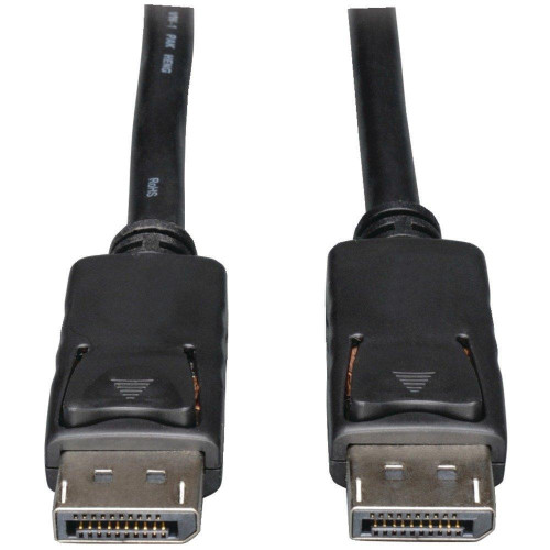 Displayport(Tm) To Displayport(Tm) Cable With Latches, 6Ft